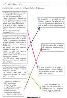 Quaderno di italiano classe quinta