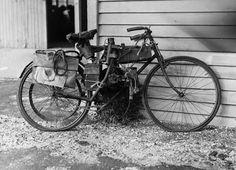 Richard Pearse's bike, 1911–13