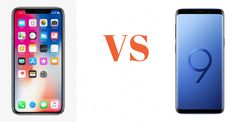 Apple and Samsung are the two renowned brands that have been dominating the smartphone industry for years. The recent battle between Apple iPhone X and Samsung Galaxy is definitely the best one to date. Samsung Galaxy S9, Galaxy Phone, Mobile Phone Comparison, Apple Iphone, Battle, Smartphone