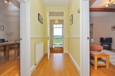 Lake Yard, Stanley, Wakefield - Entrance hallway with a view