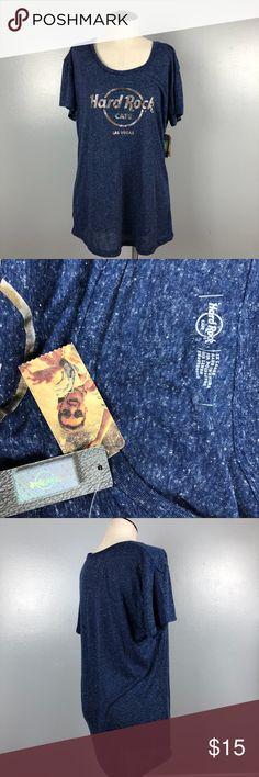 Hard Rock Cafe Las Vegas Tee Hard Rock Cafe Las Vegas Tee Size XL Brand New With Tags Dark Blue (76) Tops Tees - Short Sleeve