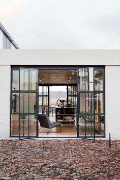 Ideas Exterior Stone House Modern Entrance For 2019 Green House Design, Modern House Design, Pretoria, Conservatory House, Tiny House, Modern Entrance, Exterior House Colors, Paint Colors For Home, Suites