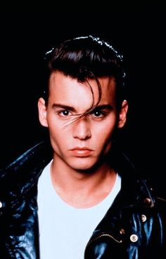 Johnny Depp as Wade Walker in Crybaby - one of the best lame movies ever made!