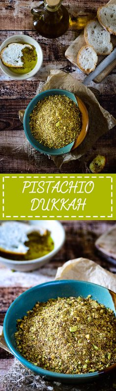 Pistachio Dukkah is a Egyptian spice mix which is very versatile to use. Food Photography and Styling by Neha Mathur. Spicy Recipes, Appetizer Recipes, Cooking Recipes, Smoker Recipes, Rib Recipes, Cooking Tips, Keto Recipes, Homemade Spices, Homemade Seasonings