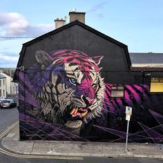 "Sonny Sundancer  ""Electric Fury"" for @waterfordwalls Ireland!  #waterfordwalls"
