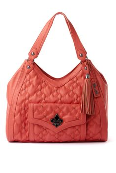 Coral Genevieve Hobo Bag#The Market Emporium Gift Shops