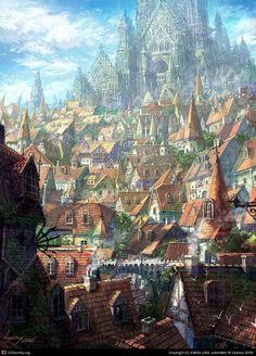 Altdorf is an intimidating city if you are from one of the provincial areas.: