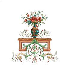Boarder Designs, Truck Art, Botanical Flowers, Boarders, Pattern Art, Textile Design, Baroque, Flower Pots, Decorative Boxes