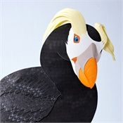 """Gail Armstrong's Tufted Puffin """"Mr Swagger"""""""