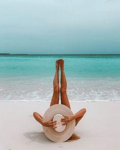 Summertime - beach - hat - sea