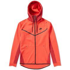 Nike Tech Fleece Allover Print Windrunner In Red Nike Running Jacket, Nike Tech Fleece, Fleece Fabric, Nike Men, Hoods, Hooded Jacket, Mens Fashion, Zip, Jackets