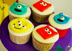 monters-birthday-party-Cupcakes