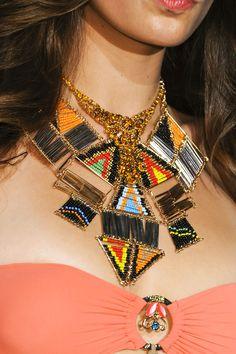 Tendencia Primavera 2013 accesoriosoversized necklaces collares extra grandes - Agogoa