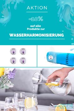 AKTION! -10% auf alle Produkte zur Wasserharmonisierung. Einfach den Rabattcode ➡️aquavivas⬅️ im Warenkorb hinzufügen. #zisano #aquavivas #detox #entgiften #meridian #wasser #lebenselixier #gesundleben #meridiane Living Water, Metabolism, Action, Feel Better, Products, Health, Simple