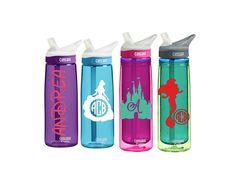 Disney World Water Bottle  Monogram CamelBak 0.75 L Eddy or 0.6 L by SmittenInAMitten