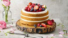 Nahý dort s ovocem Naha, Lidl, Diy And Crafts, Recipes, Food, Essen, Meals, Ripped Recipes, Eten