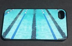 swim swimmer swimming pool phone case iPhone 4 5 by FlipTurnTags