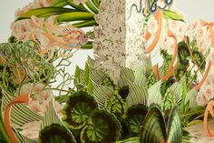 Botany illustrations and pop-up by Bozka