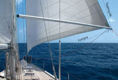 """Take some time to rig the necessary control lines and you'll get better performance on the downwind leg. """"Hands-On Sailor"""" from our June 2009 issue Sailing Cruises, Sailing Ships, Sailing Yachts, Sailing Lessons, Boating Tips, Sail Racing, Boat Safety, Boat Interior, Interior Design"""