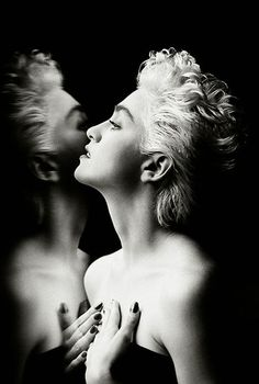 """""""Power is being told you are not loved and not being destroyed by it."""" - Madonna"""