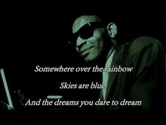 Over The Rainbow by Ray Charles & Johnny Mathis