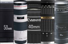 Explanation of the first Canon lenses you should buy