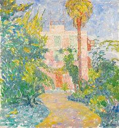 1910 Walter Ophey, Garten in Sorrent