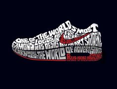 #Nike typography ad, Great example of typography used in advert posters.