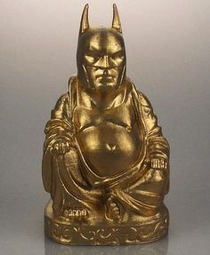 Odd 'Buddha Sculptures' With Heads Of Darth Vader, Batman, Pop Culture Icons - DesignTAXI.com
