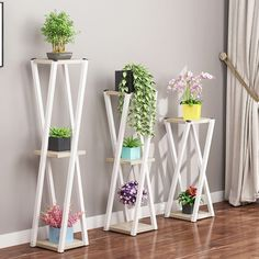 Multi layer Flower Stand Indoor Wrought Iron Balcony Flower Pot Rack Floor standing Living Room Storage R A Room Iron Art Green Laojia Multi storey Indoor Balcony Simplicity Modern Northern Europe Meaty Shelf Household Flower Rack - AliExpress Tall Plant Stands, Metal Plant Stand, Wooden Plant Stands, Diy Plant Stand, Modern Plant Stand, Stand Tall, Indoor Balcony, Iron Balcony, Indoor Outdoor