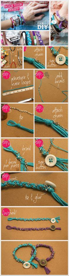 DIY bracelets | DIY armbandjes | www.bykaro.nl voor kralen, bedels en meer...