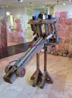 Roman Ballista Reconstruction (Illustration) -- Ancient #History Encyclopedia