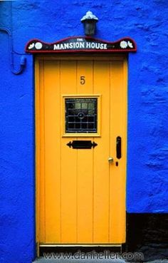 Colors | Blue & Yellow by KastleKitty