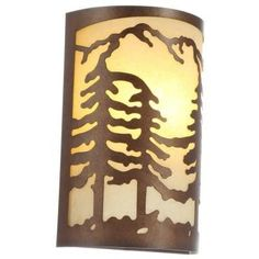Hampton Bay, 1-Light Natural Antler Sconce