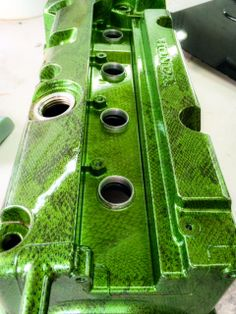 Green Paint Hydrodip Valve Cover