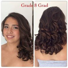 fantastic stylish graduation party hairstyle