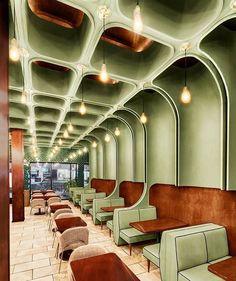 Green hospitality boutique restaurant