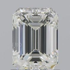 This is what we look for in the perfect to be heirloom Emerald cut diamond. This gorgeous stone faces up as a 1.50ct due to its size and the way it is cut without sacrificing the bank account! Let me tell you.... most, at any jewelry store are not going to advise you of this little known fact....as we will. Yes we are known to shop the world for YOU....your wishes, your budget. Center stone sold ~ setting sold separately. GIA Cert