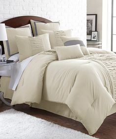 look at this offwhite eightpiece marilyn comforter set on today