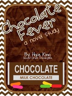 Do your kiddos have chocolate fever? If so, this study will have them eating out of your hands. During this novel study, the students will be invol. Second Grade Books, Third Grade Reading, Reading Lessons, Teaching Reading, Guided Reading, Predicting Activities, Writing Activities, Fever Book, The Chocolate Touch