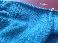 PuntAzu: Manga ranglan Knitted Hats, Knitting, Knitting Sweaters, Weaving Techniques, Knits, Jackets, Tricot, Knit Caps, Cast On Knitting
