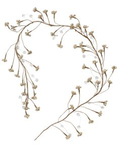 GLITTER ICE girlang silver | Garland/window decor | Decorations | Dekorationer | Inredning | INDISKA Shop Online