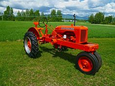 ... when collectors bring out their antique tractors for shows and