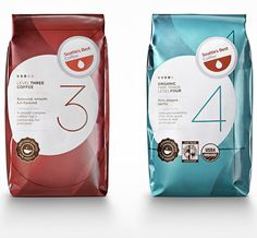 Seattle's Best Coffee | Packaging of the World: Creative Package Design Archive and Gallery