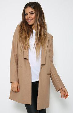 Jazzy Jacket - Camel
