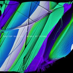 Wings Of Techno album (front) Album, Techno, Wings, Neon Signs, Beats, Darkness, Feathers, Techno Music