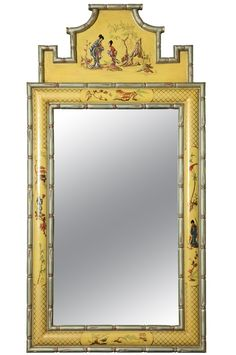 1stdibs | Hollywood Regency Chinoiserie Style Mirror