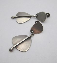 Henry Steig Sterling Earrings