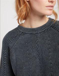 JXG Men Plus Size Long-Sleeve Turtel Neck Fit Color Block Knit Sweater Pullover