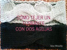 Dos patrones, varias técnicas y un resultado genial (para invierno y/o verano): turbantes, diademas, cintas para el pelo o tapa-orejas ;D!!! #soywoolly #tejereselnuevoyoga